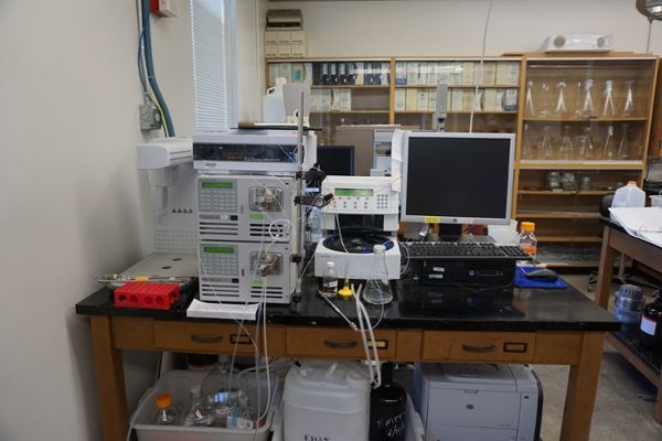 Agilent 1200 HPLC System with Dad