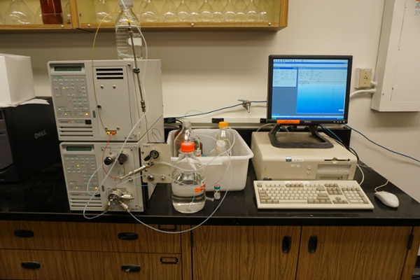 Walk-up HPLC System