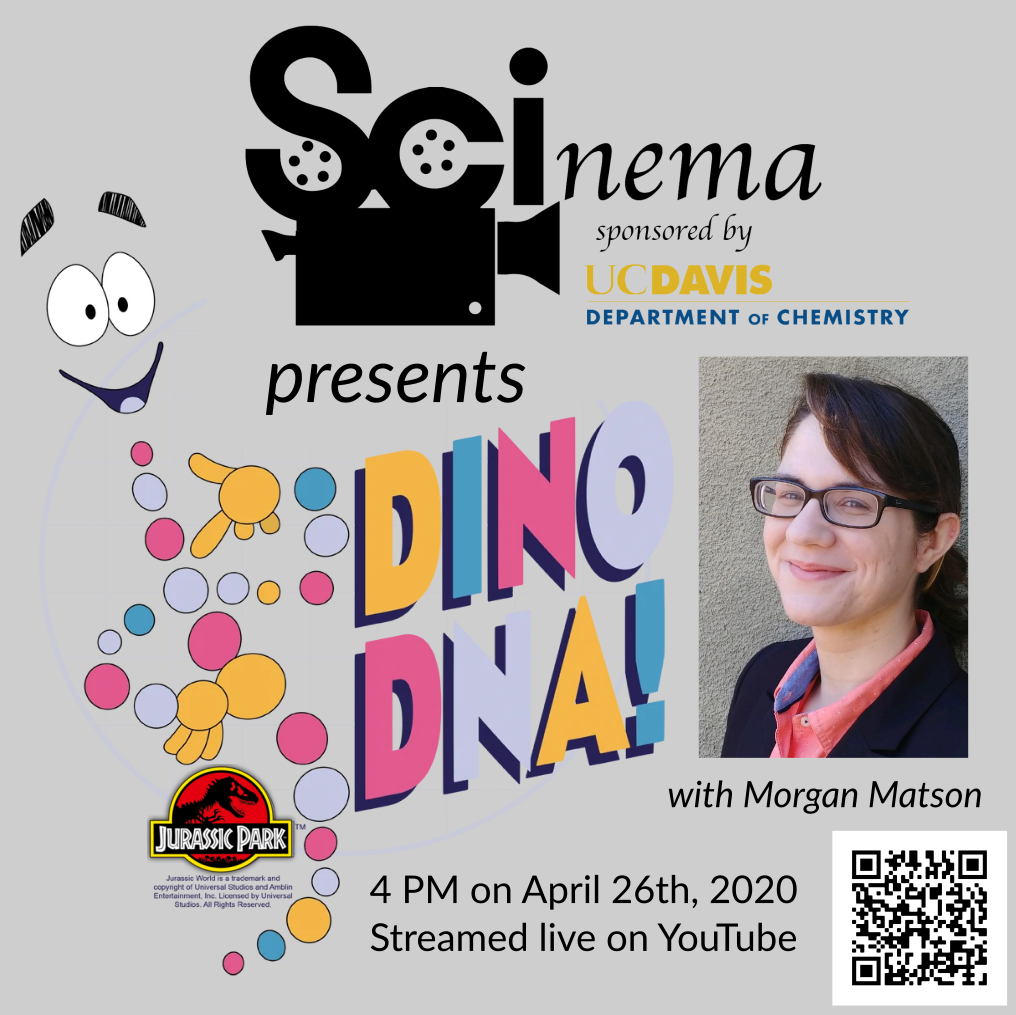 SCInema Presents: Dino DNA! with Morgan Matson