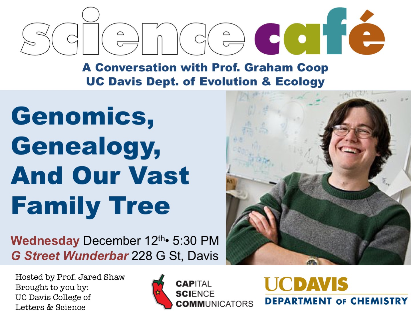 Science Cafe Flyer