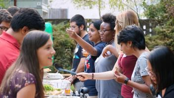 Scenes from our annual UC Davis chemistry welcome event for new graduate students