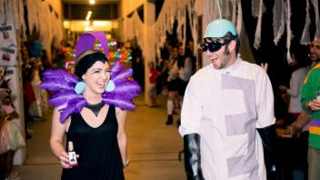 Yzma and Gronk from The Emperor's New Groove (Best Couple's Costume)