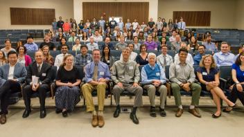 Participants of the 2018 Larock Undergraduate Research Conference