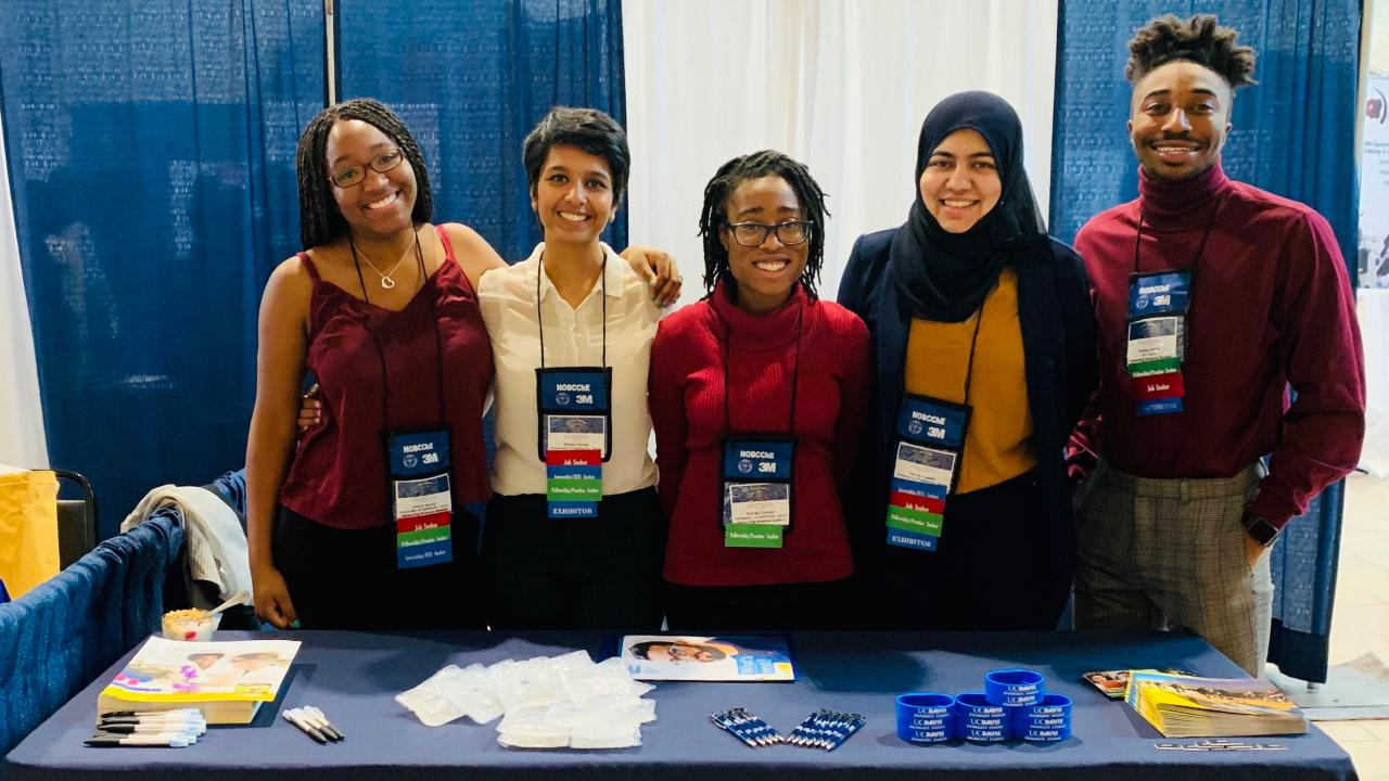 Our graduate students attend the 2019 NOBCChE Conference