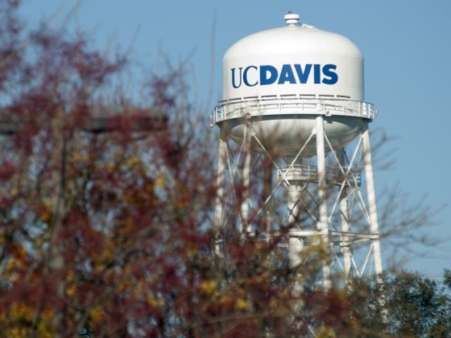 UC Davis water tower